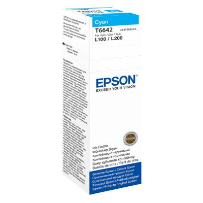 Epson C13T664240 Cyan Inkjet Cartridge  6642