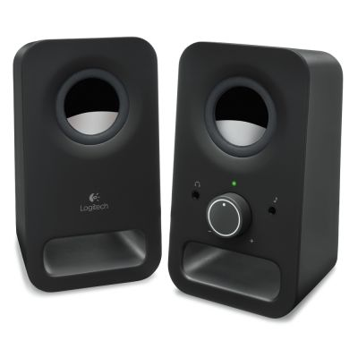 Logitech Z150 2.0 Speakers (Black) (LOGZ150BLK)