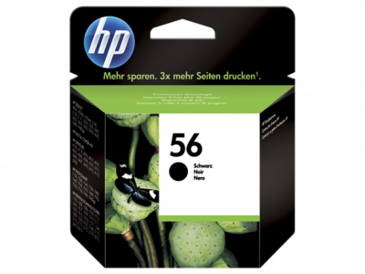 Hp C6656AE Black  Inkjet Cartridge  56