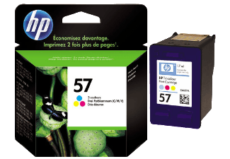 Hp C6657AE Color Inkjet Cartridge  57