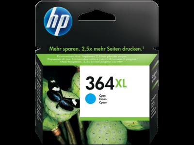 Hp CB323EE Cyan Inkjet Cartridge  364XL CYAN