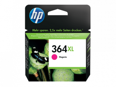 Hp CB324EE Magenta Inkjet Cartridge  364XL