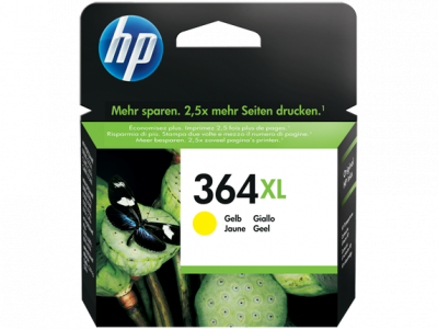 Hp CB325EE Yellow Inkjet Cartridge  364XL