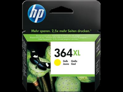 Hp CB325EE Yellow Inkjet Cartridge  364XL