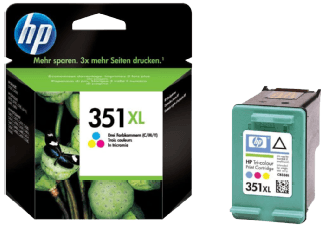 Hp CB338EE Color Inkjet Cartridge  351XL