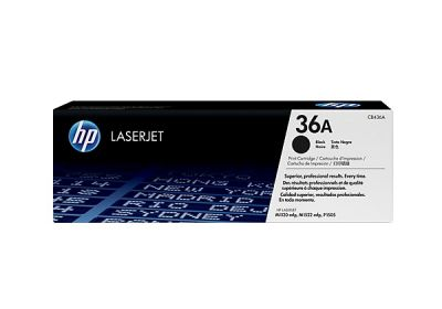 Hp CB436A Black  Laser Toner  36A