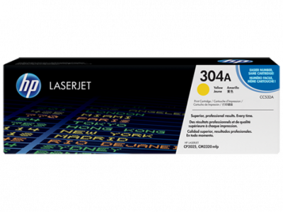 Hp CC532A Yellow Laser Toner  304A