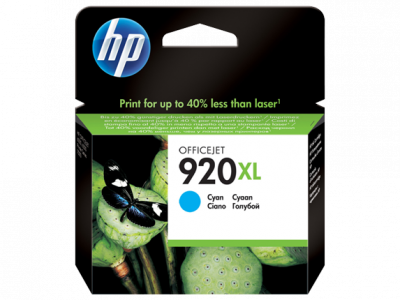 Hp CD972AE Cyan Inkjet Cartridge  920XL