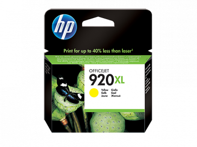 Hp CD974AE Yellow Inkjet Cartridge  920XL