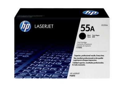 Hp CE255A Black  Laser Toner  55A