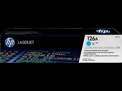Hp CE311A Cyan Laser Toner  126A