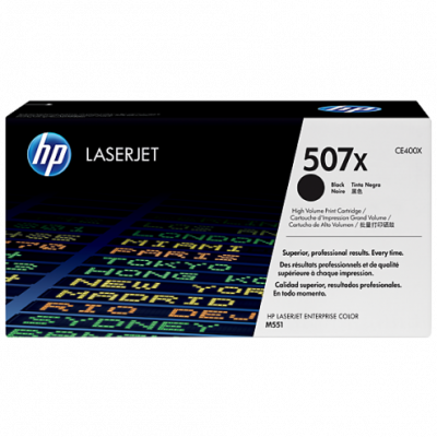 Hp CE400X Black  Laser Toner  507X