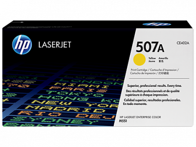 Hp CE402A Yellow Laser Toner  507A