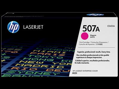 Hp CE403A Magenta Laser Toner  507A