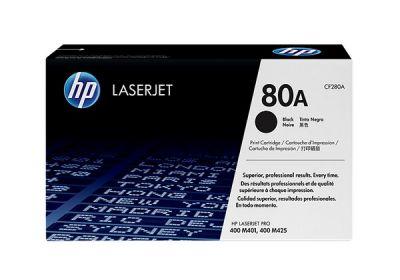 Hp CF280A Black  Laser Toner  80A