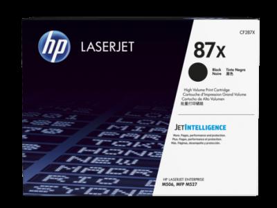 Hp CF287X Black  Laser Toner  287X