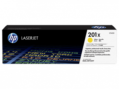 Hp CF402X Yellow Laser Toner  201X