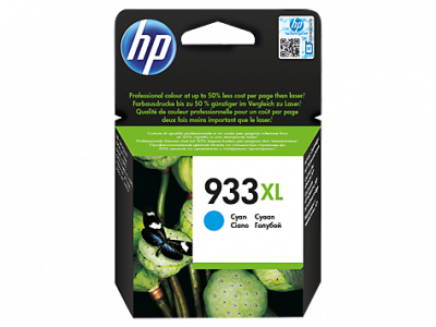 Hp CN054AE Cyan Inkjet Cartridge  933XL