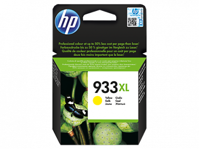 Hp CN056AE Yellow Inkjet Cartridge  933XL