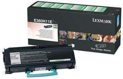 Lexmark E360H11E Black  Laser Toner  E360H11
