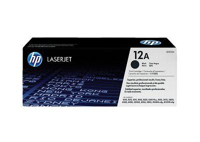 Hp Q2612A Black  Laser Toner  12A