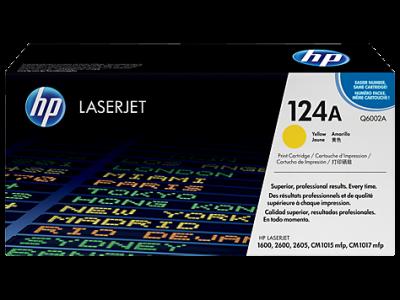 Hp Q6002A Yellow Laser Toner  124A