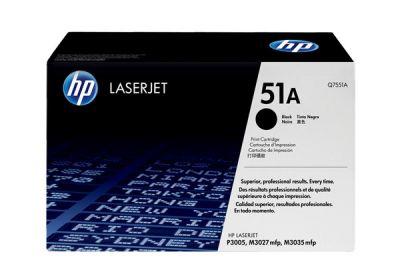 Hp Q7551A Black  Laser Toner  51A