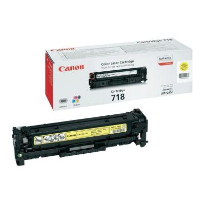 Canon 2659B002 Yellow Laser Toner  718