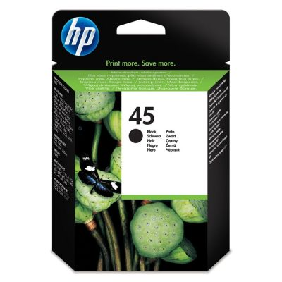 Hp 51645AE Black  Inkjet Cartridge  45