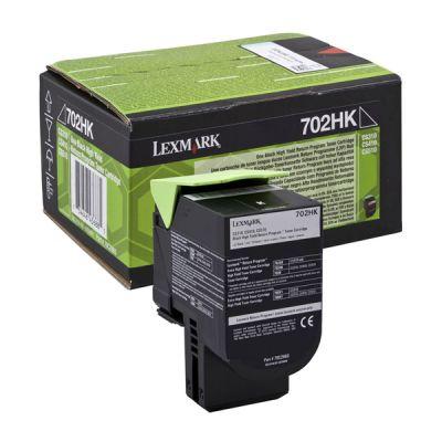 Lexmark 70C2HK0 Black  Laser Toner  702HK