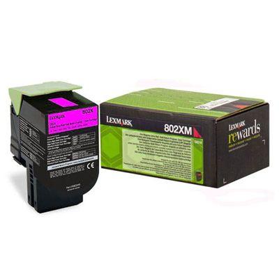Lexmark 80C2XM0 Magenta Laser Toner  802XM
