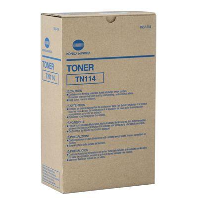 KONICA MINOLTA 8937784 Black  Laser Toner  TN114