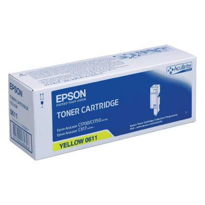 Epson C13S050611 Yellow Laser Toner  C1700Y