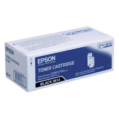 Epson C13S050614 Black  Laser Toner  C1700BK