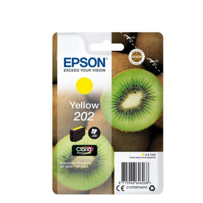 Epson C13T02F44010 Yellow Inkjet Cartridge  202XL