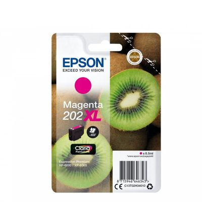 Epson C13T02H34010 Magenta Inkjet Cartridge  202XL