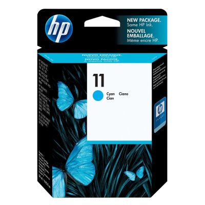 Hp C4836A Cyan Inkjet Cartridge  11
