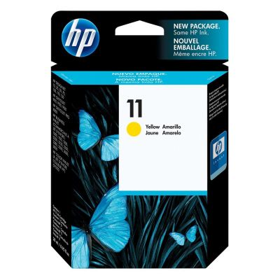 Hp C4838A Yellow Inkjet Cartridge  11