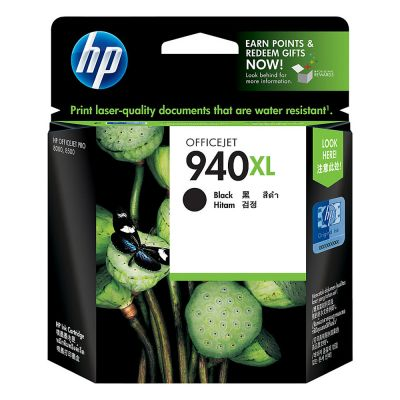 Hp C4906AE Black  Inkjet Cartridge  940XL