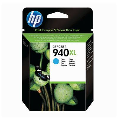 Hp C4907AE Cyan Inkjet Cartridge  940XL
