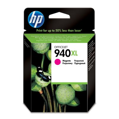 Hp C4908AE Magenta Inkjet Cartridge  940XL