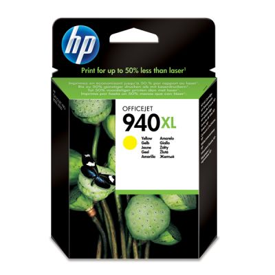 Hp C4909AE Yellow Inkjet Cartridge  940XL
