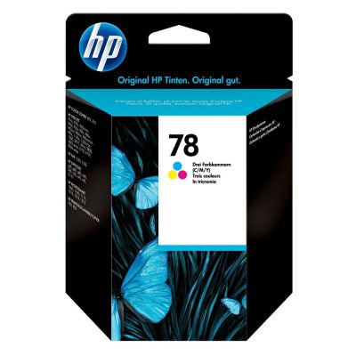 Hp C6578D Color Inkjet Cartridge  78