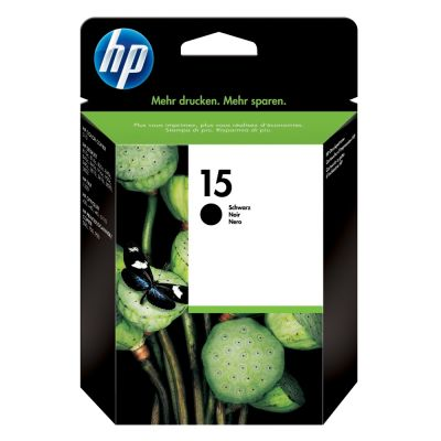 Hp C6615DE Black  Inkjet Cartridge  15