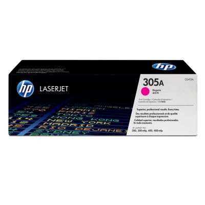 Hp CE413A Magenta Laser Toner  305A