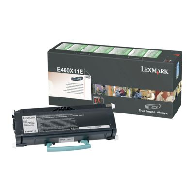 Lexmark E460X11E Black  Laser Toner  E460X11