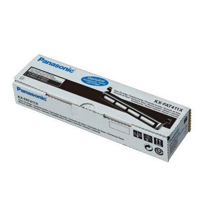 Panasonic KX-FAT411X Black  Laser Toner  KX-FAT411X