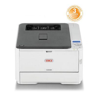 OKI C332DN Color Laser Printer (OKIC332DN) (46403102)