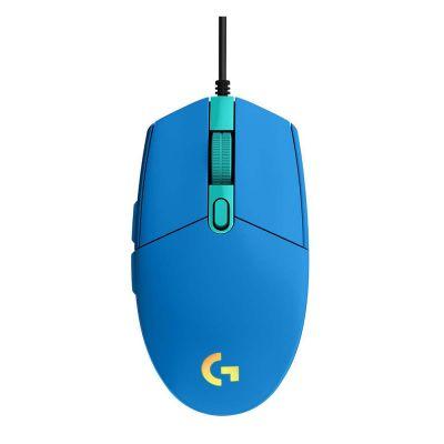 Logitech Gaming Mouse G102 LightSync RGB Blue (910-005801) (LOGG102BL)