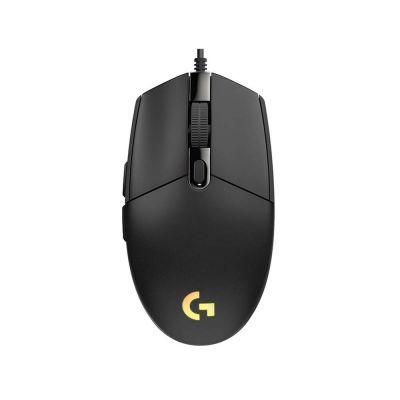 Logitech Gaming Mouse G102 Lightsync Black (910-005823) (LOGG102LS)